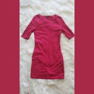 Topshop Fuchsia Stretch Dress Size 8